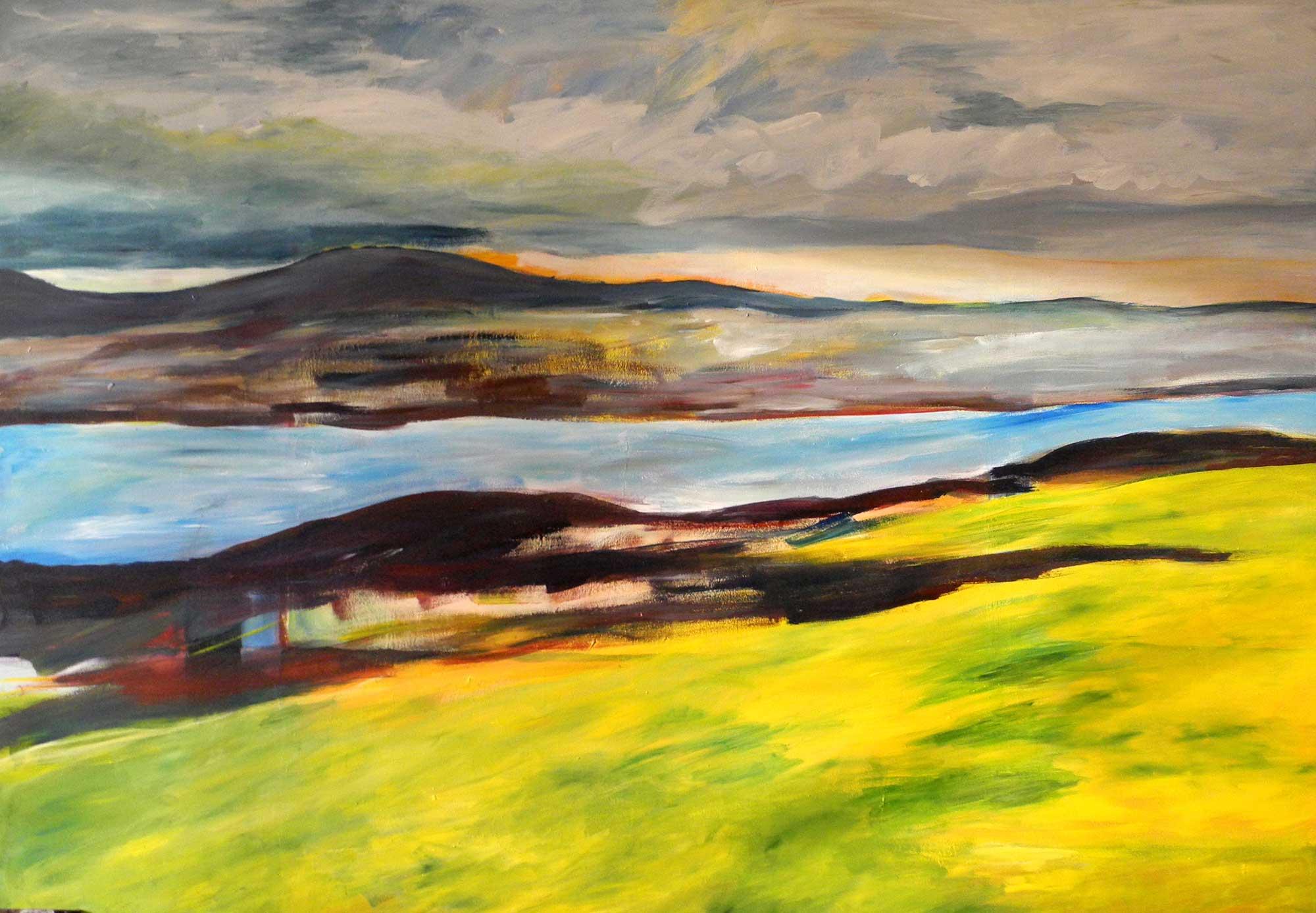 4-Schottische Landschaft