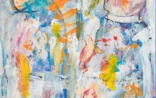 Paar I · Mischtechnik auf Papier · 42 x 28 cm · 2020 · 250,00 Euro