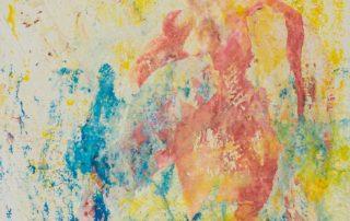 Madame Bovery 2 · Collage und Acryl auf Leinen · 30 x 30 cm · 2020 · 250,00 Euro