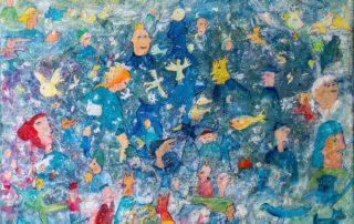 Cinderillas Dream · Acryl auf Leinen · 60 x 80 cm · 2020 · 1.200,00 Euro