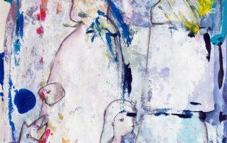 Familie · Mischtechnik auf Papier · 42 x 28 cm · 2020 · 250,00 Euro