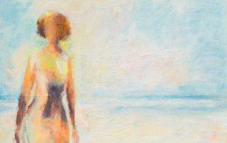 Woman I · Acryl auf Leinen · 70 x 100 cm · 2018 · 950,00 Euro