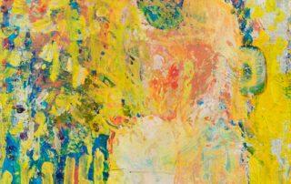 Wild Eyes Dream · Collage und Acryl auf Leinen · 30 x 30 cm · 2020 · 250,00 Euro